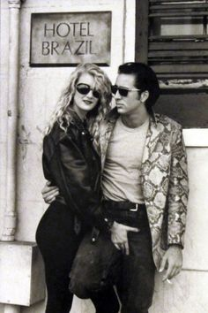 """James Hancock retweeted by Le Cinema """"Another great shot of Laura Dern & Nicolas Cage while filming 'Wild at Heart'"""" (1990) dir by @DAVID_LYNCH"""
