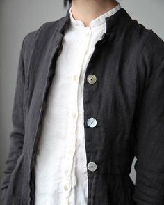 Linen jacket and shirt #ovate