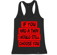 Women's WORK TWIN Racerback Tank Top