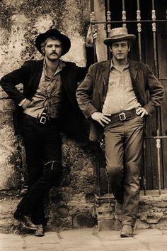 "Robert Redford ""The Sundance Kid"" & Paul Newman ""Butch Cassidy"" ~ Butch Cassiday and the Sundance Kid (1969)"