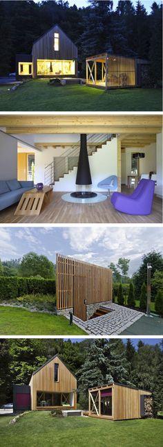 #refugio #vernáculo #cabaña #casa #vivienda #modular #industrializada en Republica Checa :: BLOG de MODUS-VIVENDI