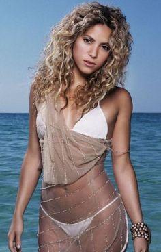 Shakira: Shakira Isabel Mebarak Ripoll, a Colombian singer and dancer, looks such a vision in her white bikini and thong. See more of : Shakira Rihanna, Shakira Mebarak, Leona Lewis, Kylie Minogue, Bikini Pictures, Female Singers, Beautiful Celebrities, Jennifer Lopez, Sexy Bikini