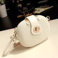 Free shipping Best Selling g New arrival 2015 summer mini candy color white messenger bag small bag women's bags