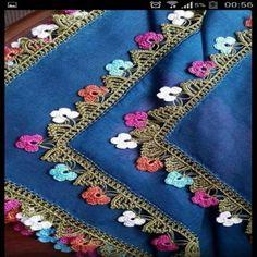 Crochet Edging Patterns, Baby Knitting Patterns, Crochet Stitches, Crochet Trim, Knit Crochet, Saree Tassels, Bargello, Crochet Cardigan, Tatting