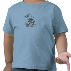 Mickey Mouse Vintage Washout Design Shirt