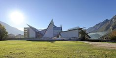 """Regularly cited as the father of """"high-tech"""" buildings, Pritzker Prize-winning Italian architect Renzo Piano's designs showcase technological shapes and materials."""