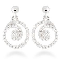 Earrings Tikar by Luxenter