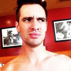My face When people say Brendon is ugly.