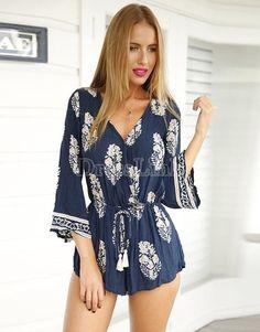 Vestido Corto #bluedress #whitedress