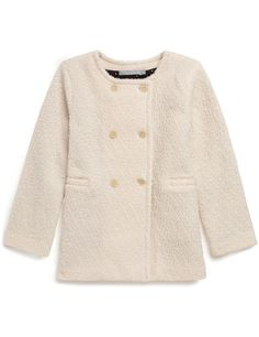 (Baby) girl wool-blend coat | 59-65 € | Chanel anyone? ;)  Exists in sizes from 18 months to 8 years.