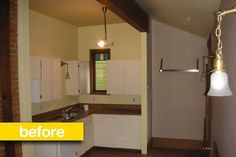 Before & After: A Dark, Dated Kitchen Goes Light and Modern — Professional Renovation