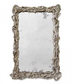 art deco home Wisteria, Oversized Mirror, Mirror Mirror, Mirrors, Montana Ranch, Decor, Heart, Wall, Decoration