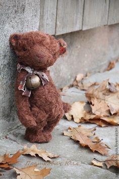 Мишки Тедди ручной работы. Каштанка. Handmade.