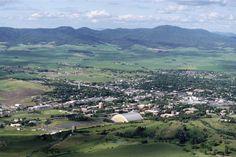 University of Idaho, Moscow Mountain, and the Palouse hills, Moscow, Idaho
