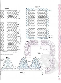 ISSUU - Crochet cape shawl by vlinderieke