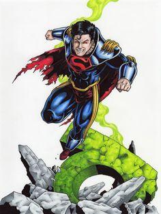 Superboy Prime by tonyperna on DeviantArt Action Comics 1, Marvel Comics, Superboy Prime, Dc Rebirth, Comic Poster, Clark Kent, Comics Universe, Black And Grey Tattoos, Superman