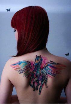 Body Art: Watercolour Tattoos
