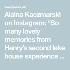 """Alaina Kaczmarski on Instagram: """"So many lovely memories from Henry's second lake house experience - he had so much fun playing in the sand and water with his cousins.…"""" Sand And Water, Cousins, Memories, Fun, Baby, House, Instagram, Memoirs, Souvenirs"""