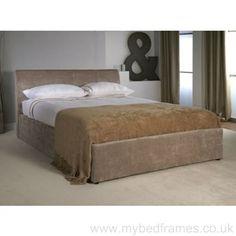 Jupiter #velvet ottoman bed frame