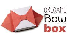 Origami Bow Box V2 Tutorial ♥
