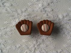Baseball Glove Plugs Gauges  by PorcupineSpines, $18.00