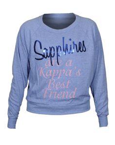 cf32dbde1f6c Kappa Kappa Gamma Sapphire Ball Pullover
