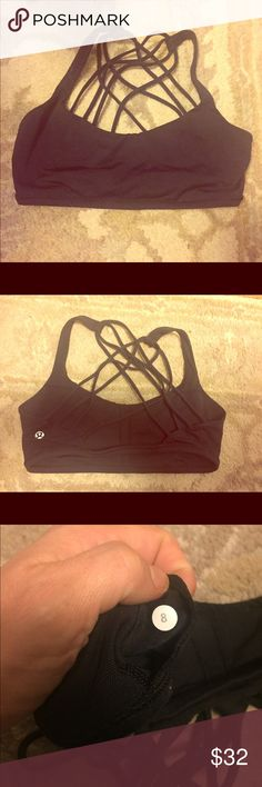 Lululemon Free to Be (Wild) Bra Excellent condition. Worn a few times, machine washed, air dried.  No holes, snags or other damage.  No pads.   Smoke free home.  No trades.   2+ Bundle 5% off. lululemon athletica Intimates & Sleepwear Bras