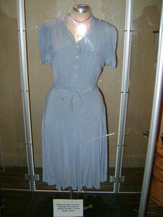 Katniss Everdeen's Reaping dress by Judianna Makovsky