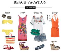 Beach Vacation Outfits | Find the Latest News on Beach Vacation Outfits at Stylenotes - Official ShopStyle Blog #outfit #verano 2014 #tendencias #barcelona #looks #trends