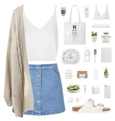 """""""This Is What I Live For"""" by cbear99 ❤ liked on Polyvore featuring Topshop, BIA Cordon Bleu, COVERGIRL, Brinkhaus, Hermès, Birkenstock, Case-Mate, H2O+, Byredo and Archie Grand"""