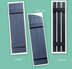 exterior house shutters - Google Search