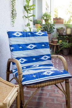 DIY Sitzkissen für Balkon- oder Gartensessel selber nähen