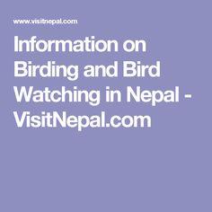 Information on Birding and Bird Watching in Nepal - VisitNepal.com