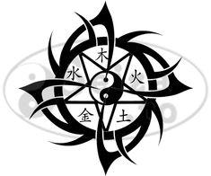 Tribal Water Tattoo | Tribal tattoo / Wu Xing tattoo