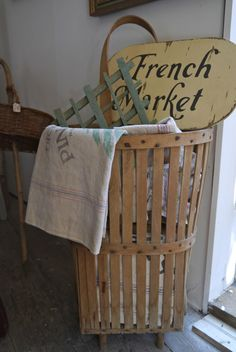 Chateau Chic- French market basket