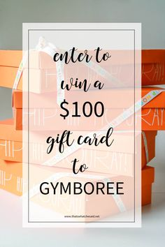 Win a $100 Gift Card to Gymboree for sharing your One Big Happy Moment for this coming school year!  #ad #onebighappy