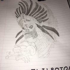 This I drew myself.