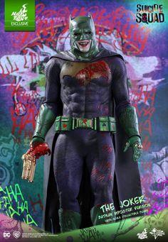 Hot Toys Unveils 'Batman Impostor' Suicide Squad Joker Variant Figure