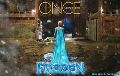 Frozen is coming Ouat Quotes, Once Upon A Time, Frozen, Painting, Art, Art Background, Painting Art, Kunst, Paintings