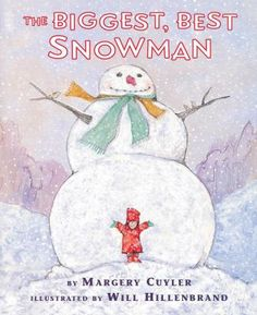 Cover image for The biggest, best snowman