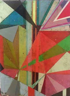 Jason Rohlf – Transitions No.2 Acrylic on Linen-24x18