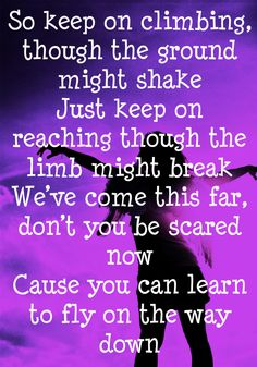 Fly ~ Maddie and Tae
