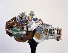 Citroën GS + GSA boxer engine Engineering, Trucks, Cars, Vehicles, Citroen 3cv, Autos, Rolling Stock, Truck, Automobile