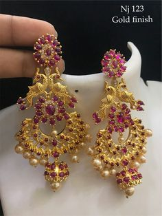 Gold Jewelry In China Jewelry Design Earrings, Gold Earrings Designs, 14k Gold Jewelry, Ruby Jewelry, Jewelry Model, Gold Designs, Quartz Jewelry, Jewellery Designs, Jewelery