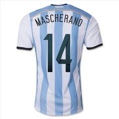 Soldes Maillot Argentine Domicile MASCHERANO 2014 Nouveau maillot de foot pas cher à votre choix, achetez plus économisez plus, si votre commande est arrivé à 100 euros,vous pouvez avoir une réduction de 10%. http://www.wkontakt.com/equipes-nationales/maillot-argentine/maillot-argentine-2014-mascherano-domicile.html