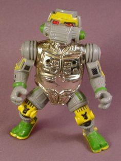 Tmnt Metalhead Action Figure, 1989 Playmates, Teenage Mutant Ninja Turtles