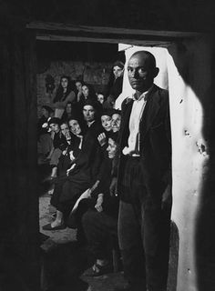 William Eugene Smith, reportero fotográfico estadounidense (1918- 1978) - 'Spanish Village' (1950) ensayo fotográfico del pueblo extremeño de Deleitosa, en España