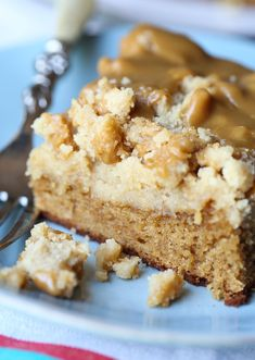 Brown Sugar Crumb Cake…it's like my breakfast dreams have come true! A rich and soft brown sugar cake topped with a thick layer of brown sugar crumb AND topped with a brown sugar icing. YES PLEASE! If you are a regular around these parts you know my affection for brown sugar. Essentially I will replace... Read More