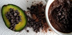 avocado pudding -- can be made dairy free and nut free