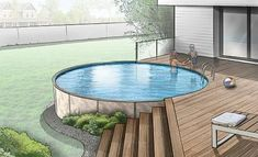 pool im garten ideen A New, State of the Art Residential Pool Luxurious enough to grace a mansion. The Optimum is designed to provide many years of enjoyment and fun for your family